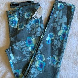 J Brand Floran rain super skinny jeans